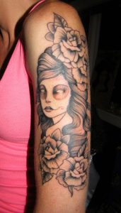 arm 5 - suicide girl