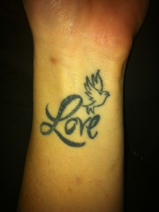Tattoo Ideas Free Tattoo Ideas Dove And Love