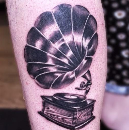 Tattoo Ideas Free Tattoo Ideas 187 Old Vintage Gramophone